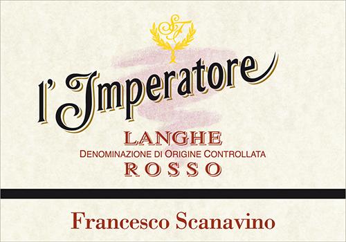 l'IMPERATORE langhe rosso Francesco Scanavino
